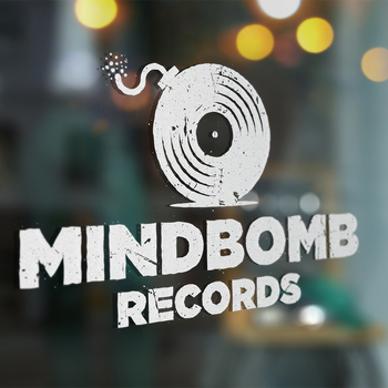 This is a logo for a record store.