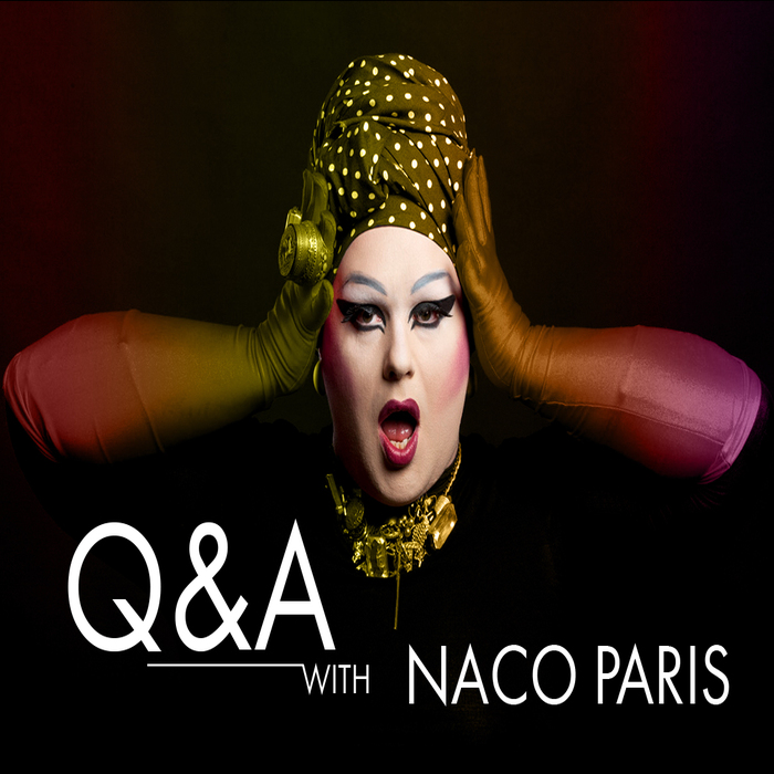 Cover for a magazine spread for fashion designer Naco Paris featured on Fashion|One Television.
