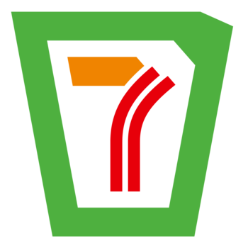 7/11 redesign concept. Focus was to incorporate the 11 differently.
